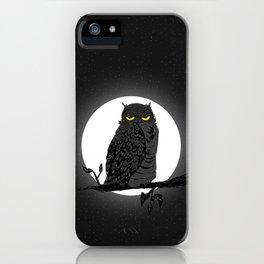 Night Owl V. 2 iPhone Case