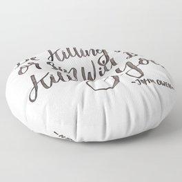 """Be Killing Sin or Sin Will Be Killing You"" - John Owen Floor Pillow"