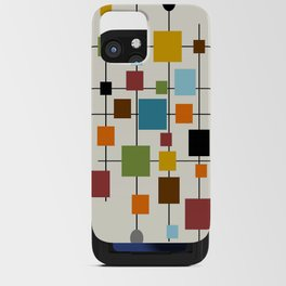 Mid-Century Modern Art 1.3 iPhone Card Case