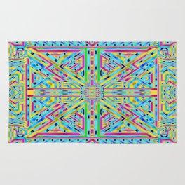Wavy rug pattern Rug