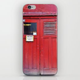 Fire Door iPhone Skin