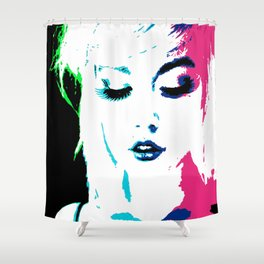Pucker Shower Curtain