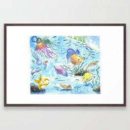 Sea World II Framed Art Print