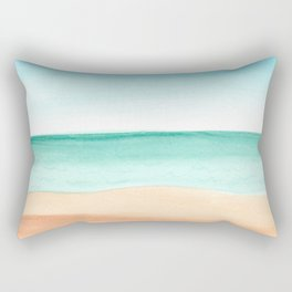 #89. DENNIS (Beach) Rectangular Pillow
