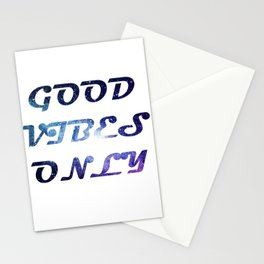Good vibes only 2 Stationery Cards