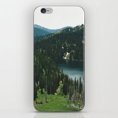 SIAMESE LAKES MONTANA iPhone & iPod Skin