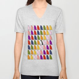 Penguin Waddle - How to stand out in a crowd Unisex V-Neck