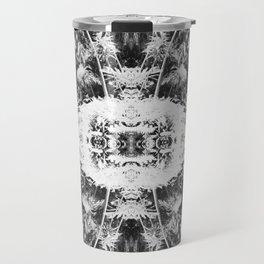 Black n White Boho Pattern Travel Mug