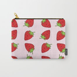Strawberries 'n' Cream Carry-All Pouch