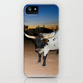 Bulls Night Out iPhone Case