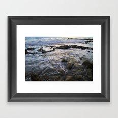 Evening in San Pedro, California Framed Art Print