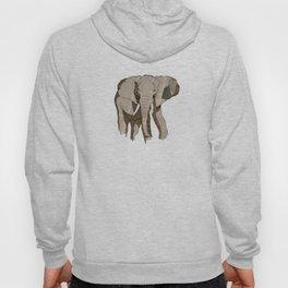 Newspaper Elephant Hoody