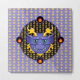 Qing - Monster High Pet Metal Print