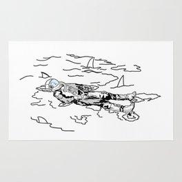 Space Swim Rug