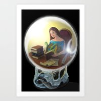 Through the Looking Glass Art Print