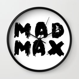 mad max Wall Clock