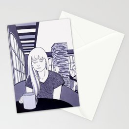 Romance is boring I Stationery Cards