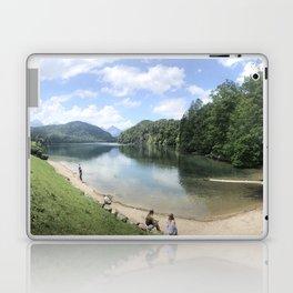 Lake in Hohenschwangau, Germany Laptop & iPad Skin