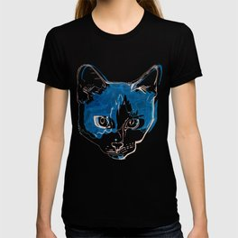 Kitty with a Soul Patch T-shirt