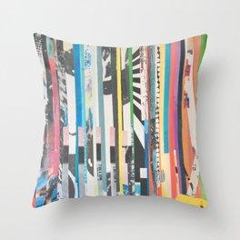 STRIPES 40 Throw Pillow