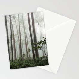 Great Smoky Mountains National Park - Forest Fog Adventure Stationery Cards