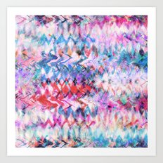 Tie Dye Soda Art Print