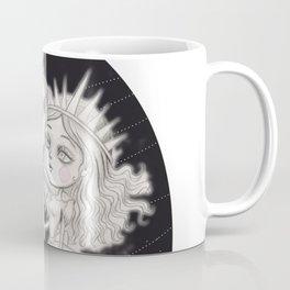 Moon man Romance with Lady Sun Coffee Mug