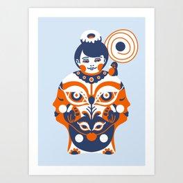 Gratified Art Print