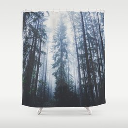 The mighty pines Shower Curtain