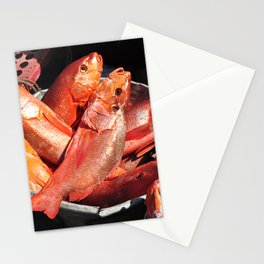 something fishy like salmon fishy Stationery Cards