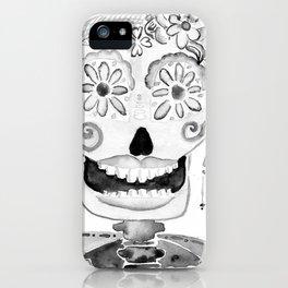 Katrina grises iPhone Case