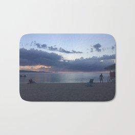 Jamaican Beach Sunset Bath Mat