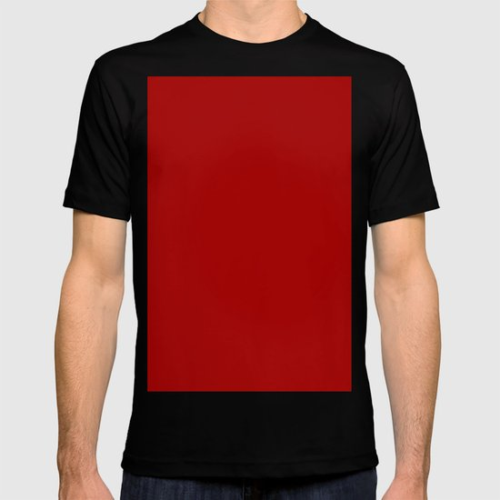 Dark candy apple red T-shirt