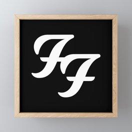 FooFighters Framed Mini Art Print