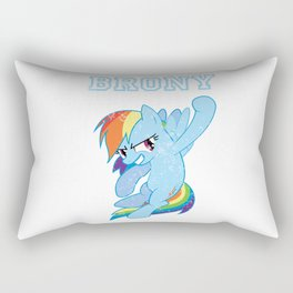 Brony Rainbow Dash Rectangular Pillow