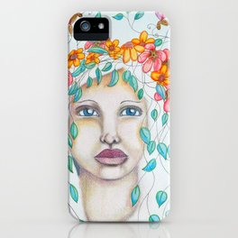 Dragonfly Goddess iPhone Case