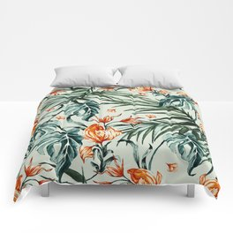 Exotic flower nature-07 Comforters