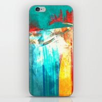 surfing iPhone & iPod Skins featuring Surfing by Fernando Vieira