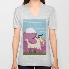 billy goat gruff Unisex V-Neck