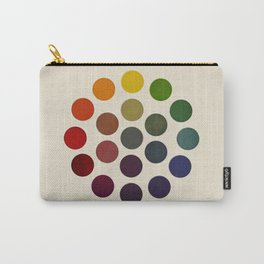 'Parsons' Spectrum Color Chart' 1912, Remake 2 (enhanced) Carry-All Pouch