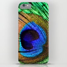 Neon Peacock Slim Case iPhone 6 Plus