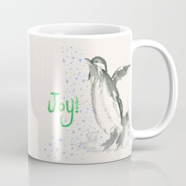 Joyful Penguin Coffee Mug