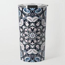 Textured Kaleidoscope Travel Mug