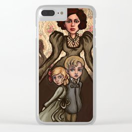 Turn of the Screw Clear iPhone Case