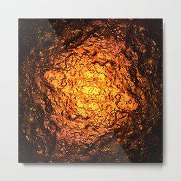 Red Hot Lava Metal Print