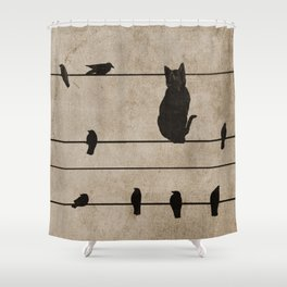 fitting in Shower Curtain