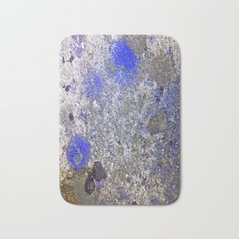 Blue Moss Bath Mat