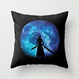 Bankai Silhouette Ichigo Throw Pillow