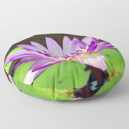 Water Lily Magic Floor Pillow