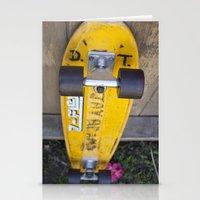 jay z Stationery Cards featuring Jay Adams Z-Flex Skateboard by Andi